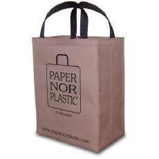 EcoJoes - Paper Nor Plastic - Reusable Cloth bag