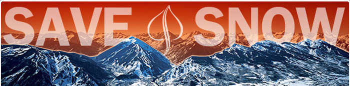 Free Save the Snow Sticker