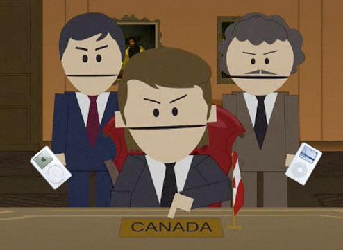 You wacky Canadians