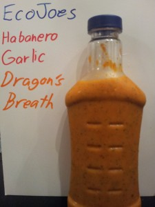 Dragon's Breath, a garlic habanero sauce from EcoJoes